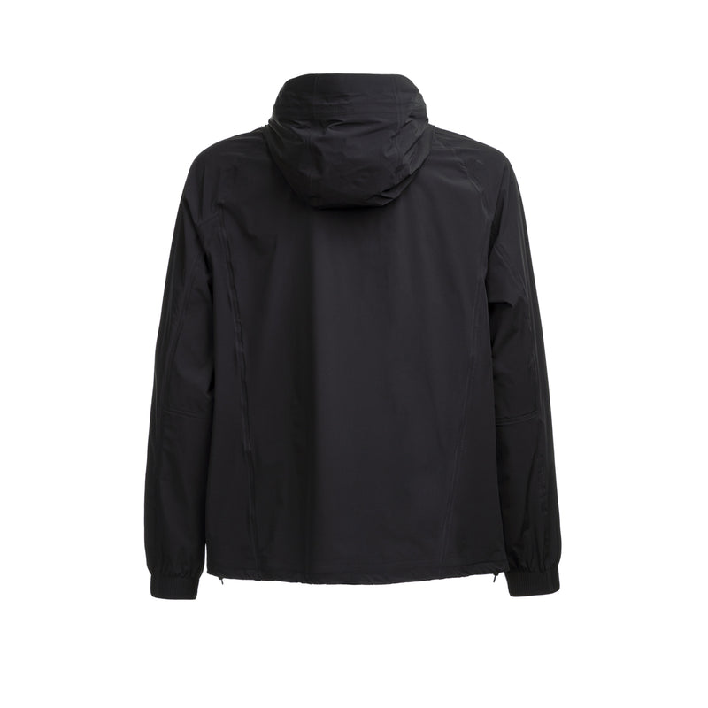 Journey Windbreaker Hoody / Black Raven