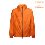 MONOBI + VIROBLOCK / Journey Windbreaker Hoody Vitaminic Orange