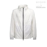 MONOBI + VIROBLOCK / Journey Windbreaker Hoody White