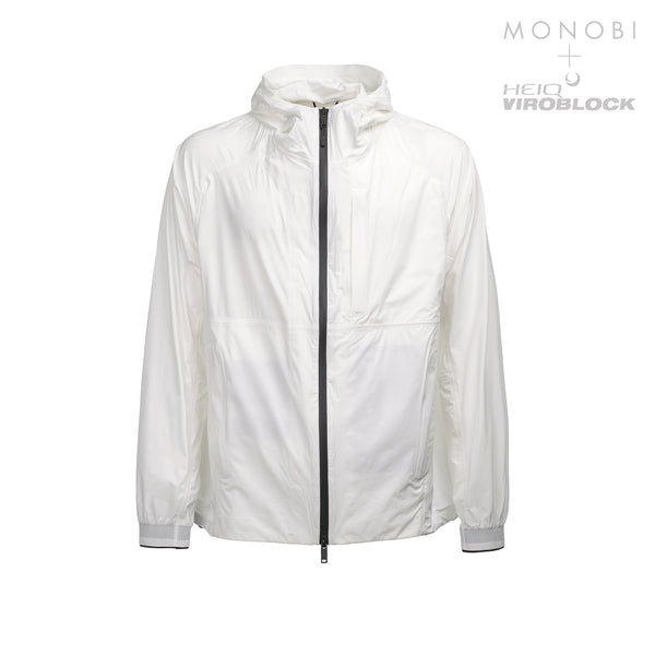 Journey Windbreaker Hoody / White