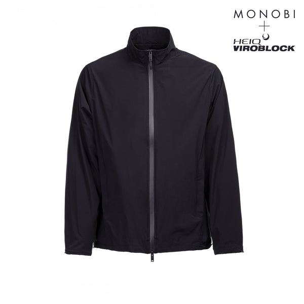 MONOBI + VIROBLOCK / Journey Windbreaker Jacket Black Raven