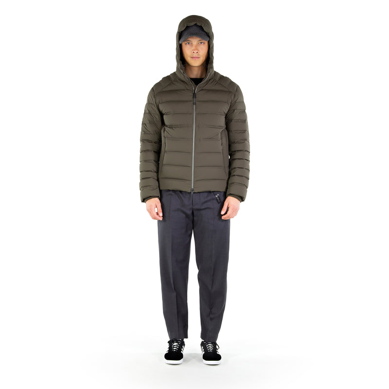 Light Defense Down Jacket / Smoke Grey