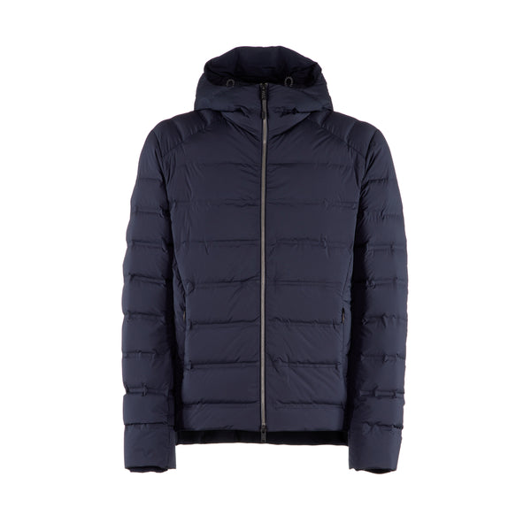 Light Defense Down Jacket Blue Navy