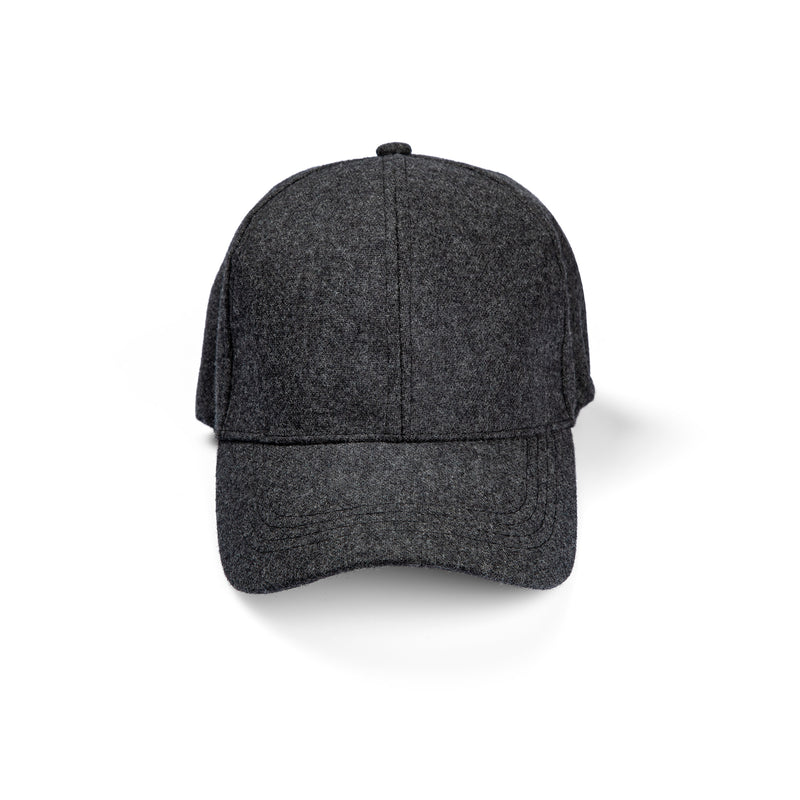 Perfo Cap Wool / Dark Grey Mel
