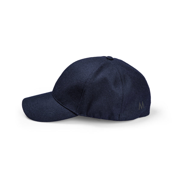 Perfo Cap Wool Blue Navy