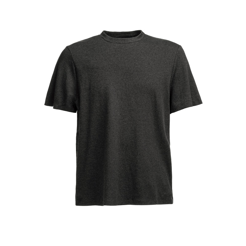 Icecotton Tee Bonded SS / Dark Grey Mel