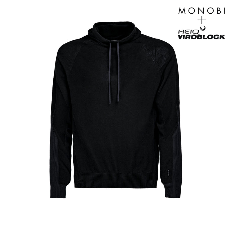 Wholegarment 15 H-Sweat / Black