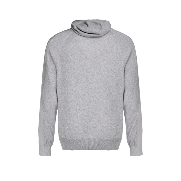 MONOBI + VIROBLOCK / Wholegarment 15 H-Sweat Light Grey Mel