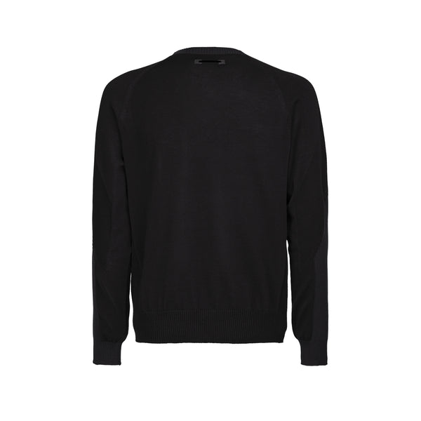 Wholegarment 15 Sweat / Black