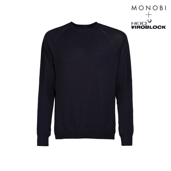 MONOBI + VIROBLOCK / Wholegarment 15 Sweat Blue