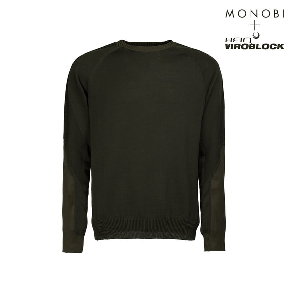 MONOBI + VIROBLOCK / Wholegarment 15 Sweat Military