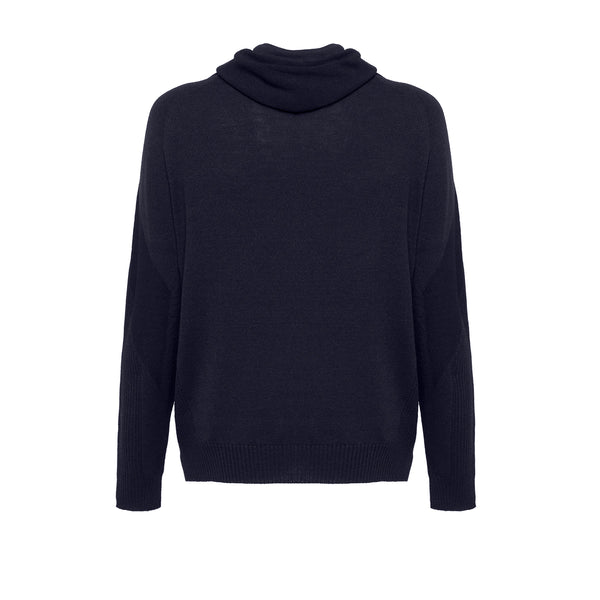Wholegarment 15 H-Sweat / Blue Navy