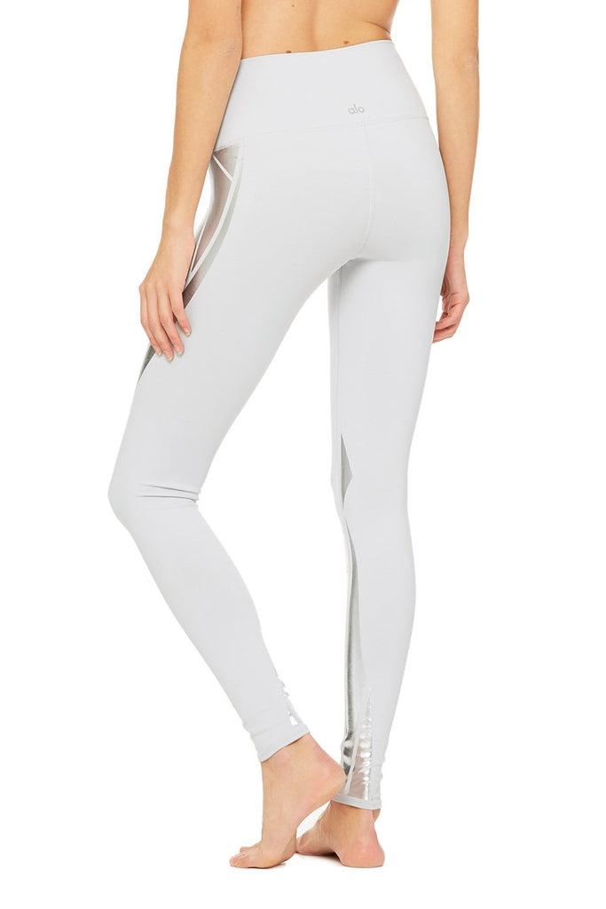 HIGH-WAIST AIRBRUSH LEGGING - FACET