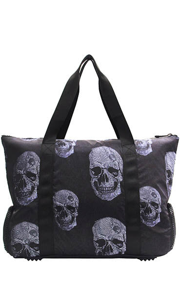 Terez X Go!SAC Crystal Skull Structured Tote