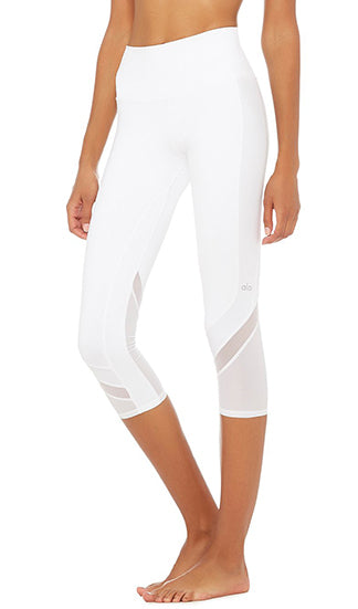 HIGH-WAIST ELEVATE CAPRI