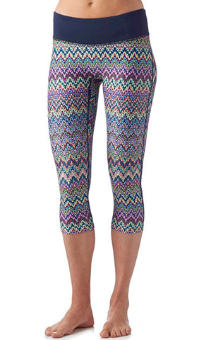 GRAFFITI TAG PERFORMANCE CAPRI LEGGING