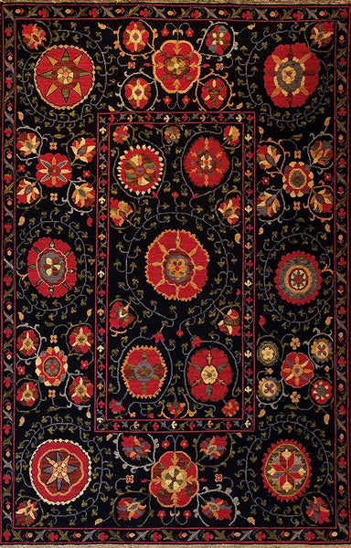 Suzani 7 Mountain High Handmade Area Rug