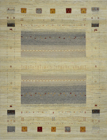 Handknotted Gabbeh Carpet