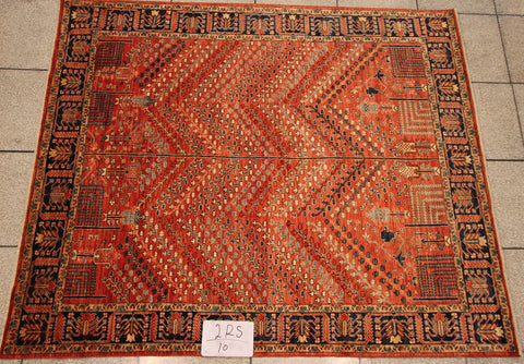 Handknotted Village Carpet