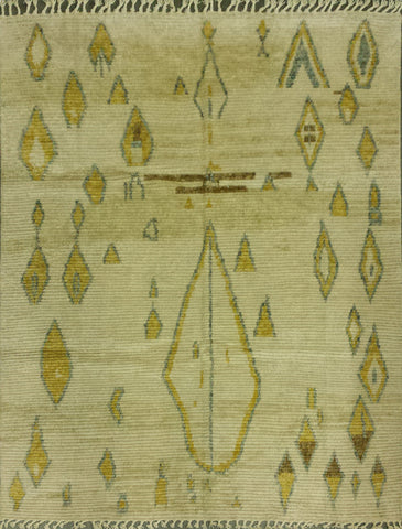 Handknotted Wool Morrocan Carpet
