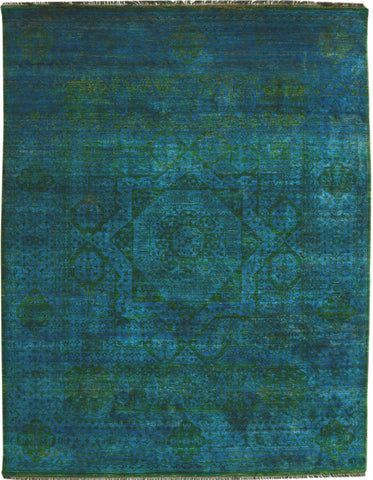 Handknotted Silk Carpet