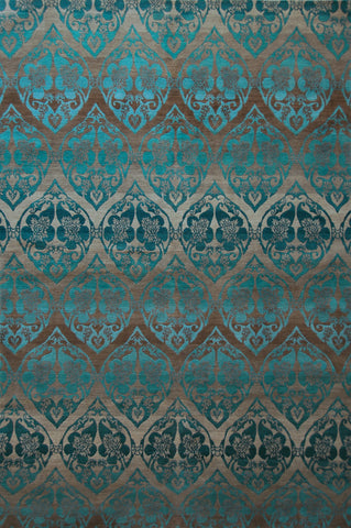 Garden Lattice Teal