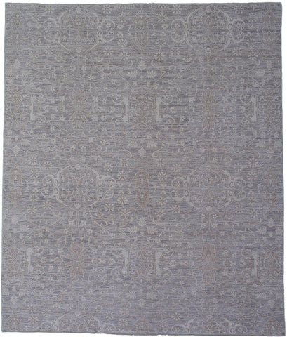 Modern Traditional Oriental Area Rug Handmade In Pakistan