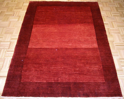 Red Persian Gabbeh Handmade Carpet