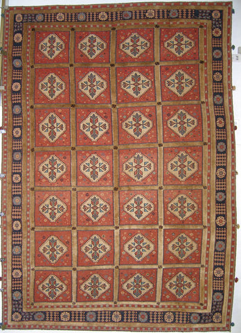 Persian Balouch Soumak Handknotted Carpet