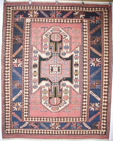 Persian Soumak Handknotted Wool Rug