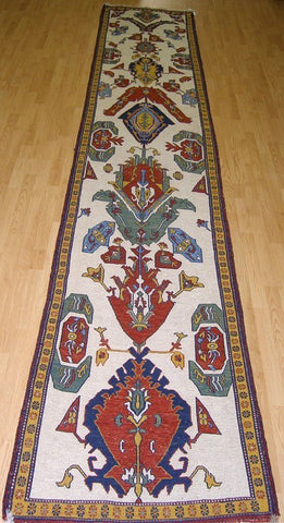 Persian Soumak Handknotted Wool Runner