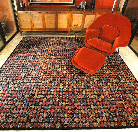 11 Foot Round Hand Knotted Wool Area Rugs A Rug For All