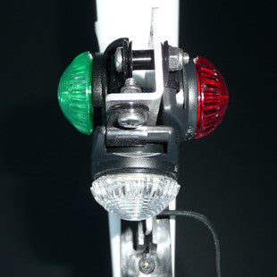 Bow Light Red/White/Green