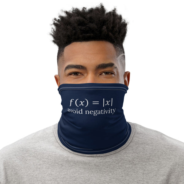 Avoid Negativity Face Mask - Minute Math