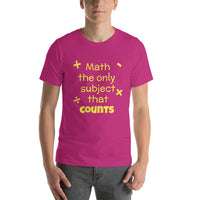 Math the only subject that counts - Minute Math