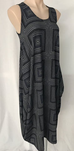 Drape dress {Print} MEDIUM ONLY