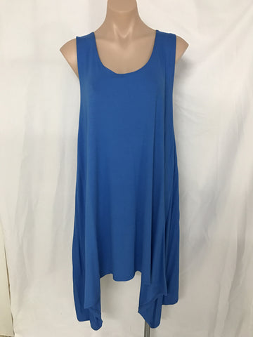 Dip Dress {BLUE}