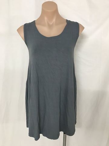 MINI SWING DRESS {GREY}