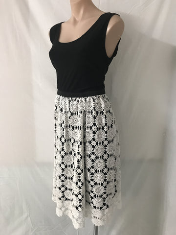 Vintage Lace Dress 2 LARGE