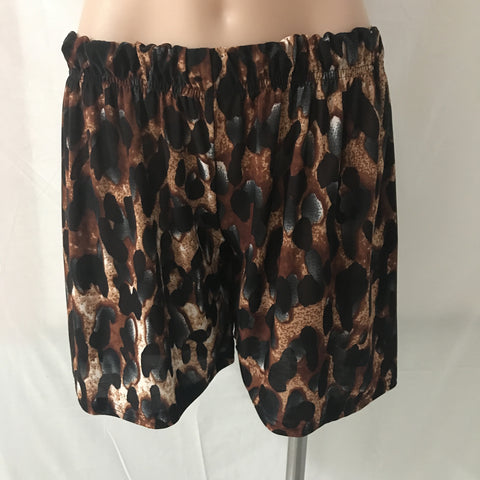 Swing Shorts {Cheetah}