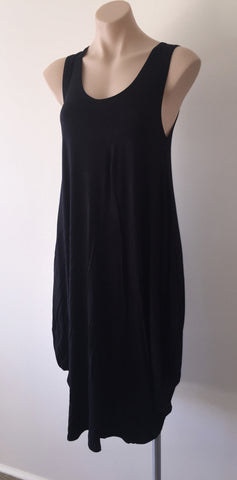 Drape dress {Black}