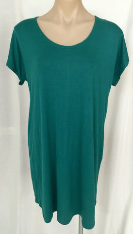 Tee Dress {Emerald} MEDIUM ONLY