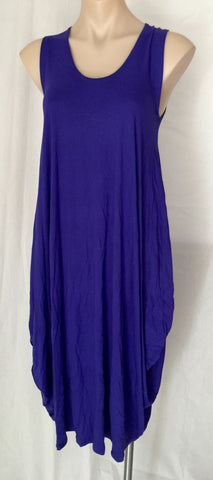Drape dress {Purple} SMALL ONLY