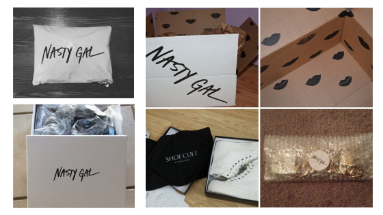 nasty gal nastygal fashion boutique packaging shipping materials inspiration inspo for online boutique