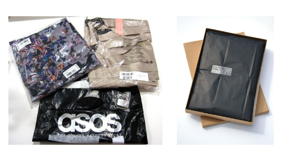 asos fashion boutique packaging shipping materials inspiration inspo for online boutique