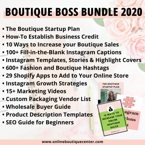 Boutique Boss Bundle 2020