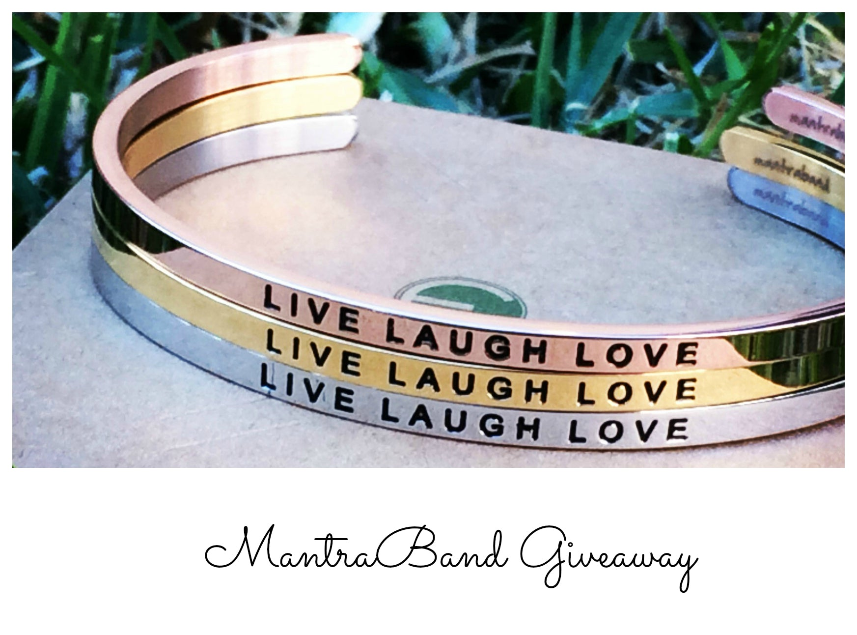 Live Laugh Love Giveaway!
