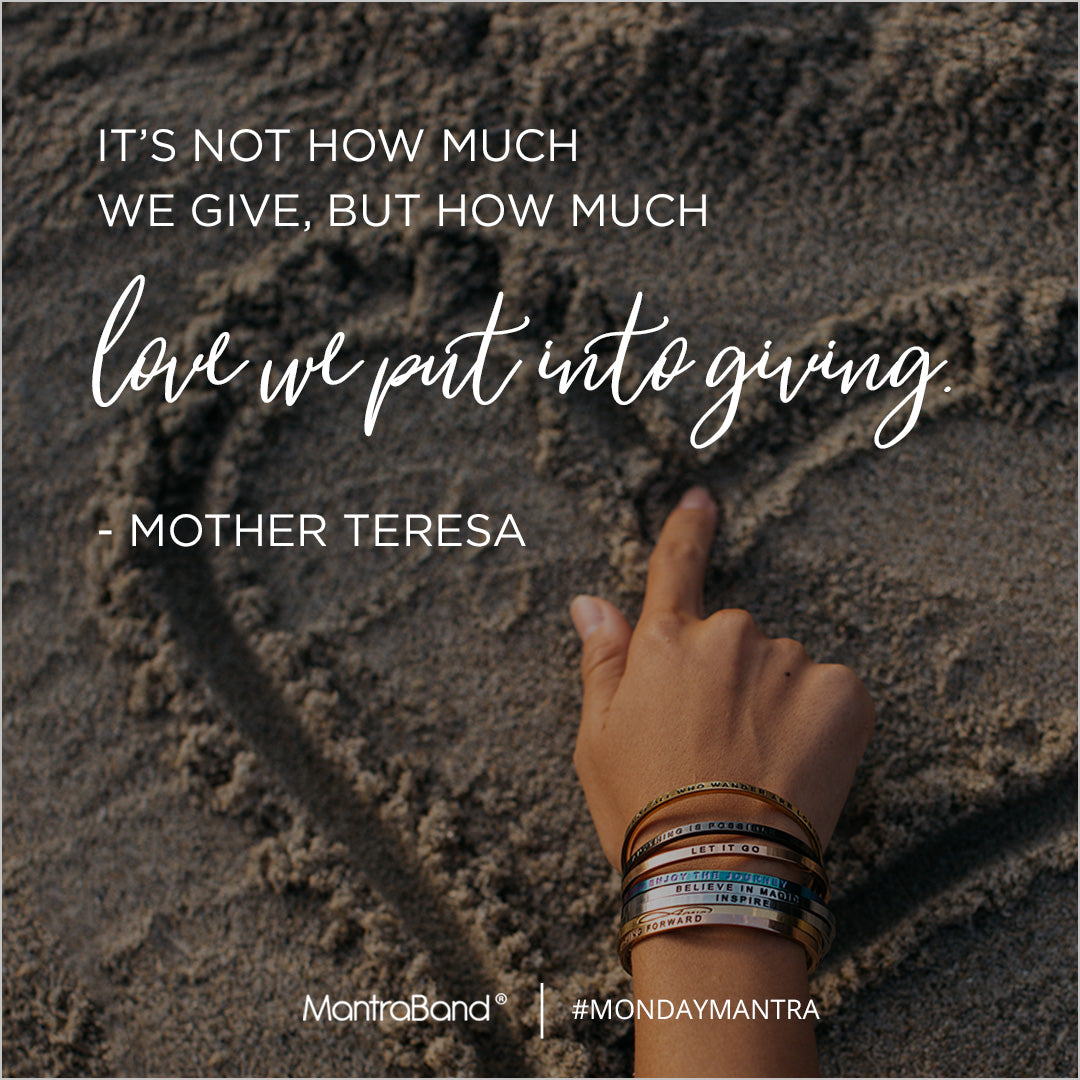 It's Not How Much We Give
