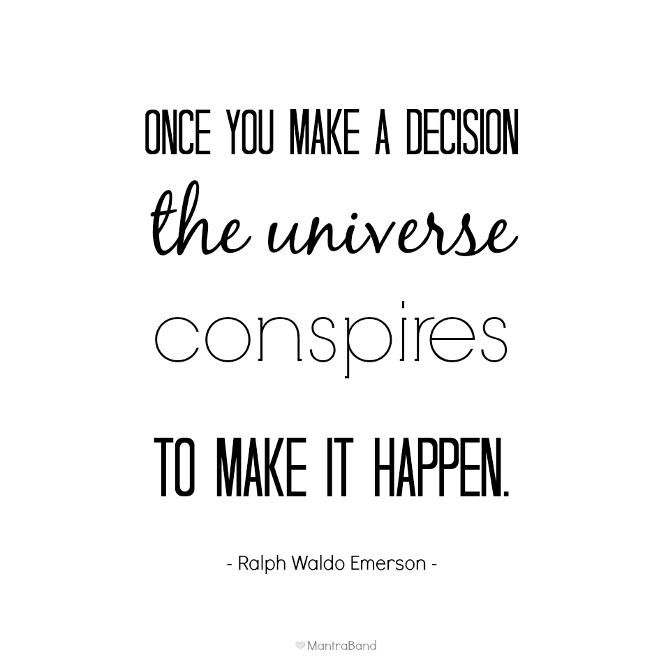 Make a Decision, Make It Happen