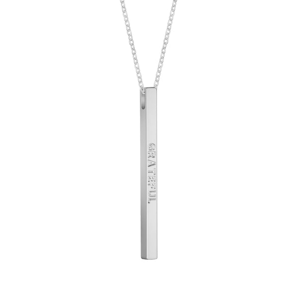 Silver Grateful Necklace - MantraBand